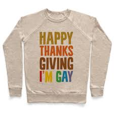 happy thanksgiving i m crewneck sweatshirts human