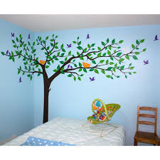 walltastic yellow tiny tatty teddy wall stickers wt43206 the colorful super big tree removable wall