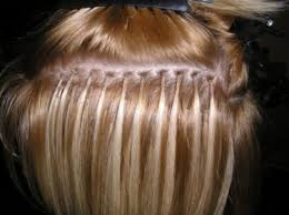 glue in extensions the best way to put in hair extensions hairsmystory