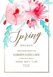 brunch invitation template free brunch lunch party invitation templates greetings island