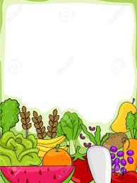 fruit and vegetable borders clip art u2013 101 clip art