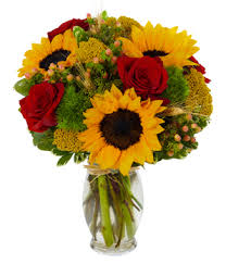 sunflower arrangements rubies and at from you flowers