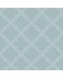 blue quatrefoil wallpaper spectacular deal on slate blue quatrefoil peel and stick wallpaper
