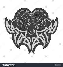 aries tattoo stock vector 538316323 shutterstock
