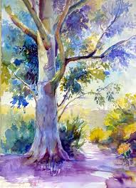 best 25 watercolor trees ideas on tree water color