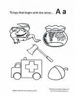 the letter a coloring page print out coloring pages