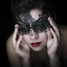 laser cut masquerade masks buy black venetian laser cut masquerade mask by greenhaus