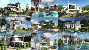 top 15 villa design free plan sam architect youtube