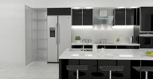 aluminium kitchen cabinet vs wood kitchen