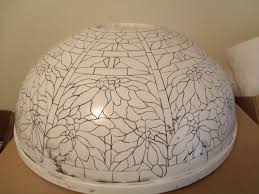 Tiffany 22 Poinsettia Lamp Fiberglass Mold By Grotepass Studios In