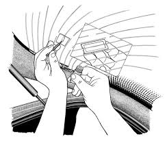how to repair a rear window defroster 4 steps with pictures