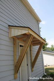How To Make A Exterior Door Amazing How To Make A Front Door Canopy Hfer Throughout Design