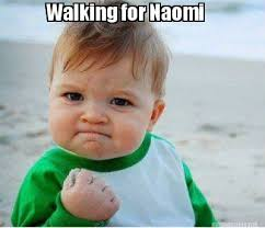Naomi Meme - meme maker walking for naomi
