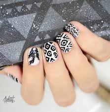 40 black nail art ideas art and design feedpuzzle