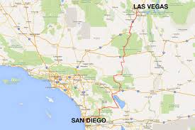 Amtrak Usa Map by San Diego To Las Vegas 4 Ways To Travel