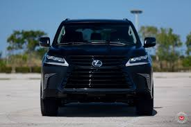 lexus car black dr jekell vs mr hyde murdered out lexus lx 570 takes sinister to