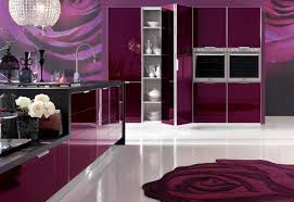 Rose Cabinets Kitchen Red Rose Modern Kitchen Theme With Red Rose Rug And Also