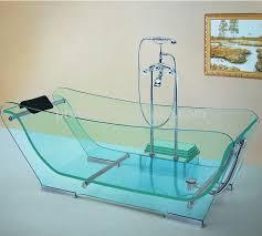 glass bathtub for sale good quality clear freestanding glass whirlpool bathtub buy