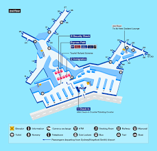 Airport Map Sydney Airport Map Facility Information Ana