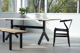 Modern Trestle Dining Table For Sale At Stdibs - Trestle kitchen table