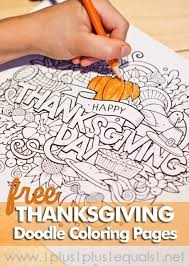 thanksgiving doodle coloring pages doodle coloring thanksgiving