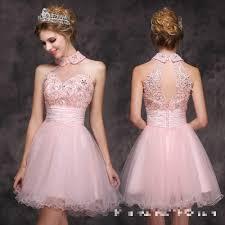 wholesale cocktail dress 2016 fashion pink sweet soft yarn