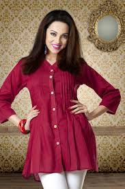 latest cotton comfort beautiful indian kurti shop online with