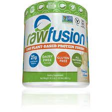 san rawfusion rawfusion vegan protein powder non gmo dairy soy animal free