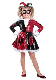 harley quinn arkham city halloween costume girls harley quinn tutu costume