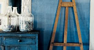 indigo denim techniques paint ralph lauren home