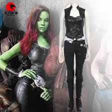 Gamora Costume Dfym Guardians Of The Galaxy Vol 2 Cosplay Gamora Costume Full