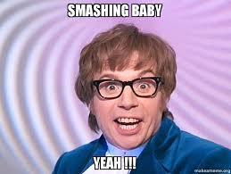 Baby Meme Picture - smashing baby yeah make a meme
