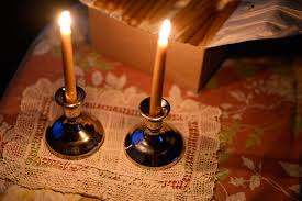 shabat candles narrow bridge candle ritual candles in support of bds box
