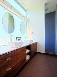 How To Hang A Bathroom Mirror by Some Helps In Hanging A Bathroom Mirror Appealing Rounded Hanging