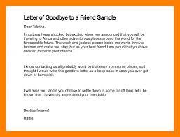 4 farewell letter for a friend teller resume