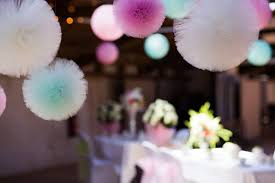 tulle pom poms aliexpress buy 10cm 15cm 20cm 30cm tulle pompoms party