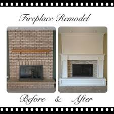 How To Lay Brick Fireplace by The 25 Best Fireplace Remodel Ideas On Pinterest Mantle Ideas