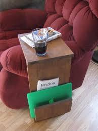 plateau de canapé support de table de plateau tv canapé chaise bras reste avec fente
