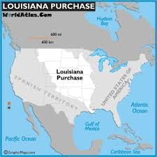 louisiana map in usa louisiana purchase and map of the louisiana purchase