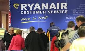 Customer Service Desk Ryanair U0027barring Passengers From New Compensation Flight Offer