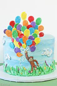 curious george birthday cake sugarhero