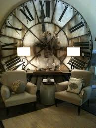 Decorative Wall Clocks For Living Room Top 25 Best Large Clock Ideas On Pinterest Wall Clock Decor