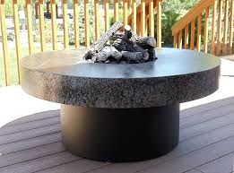 cocktail table fire pit r r living athena round cocktail table fire pit 42 x 18