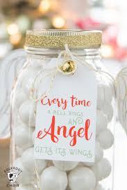 angel christmas mason jar gifts u2013 diy u0026 craft