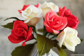 paper roses handmade crepe paper buds tutorial