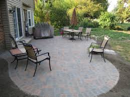 Diy Paver Patio Installation Small Paver Patio Designs Landscaping With Pavers Amazing