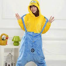 Toddler Minion Costume Aliexpress Com Buy New Winter Minion Onesies Christmas