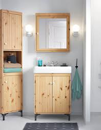 Bathroom Storage Ideas Ikea by Silverån Tälleviken Sink Cabinet With 2 Doors White Wet Floor