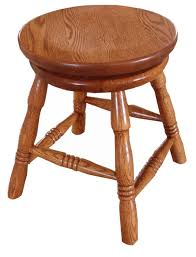 oak wood bar stools oak wood 18 swivel bar stool from dutchcrafters amish furniture