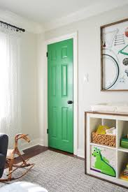 Colored Interior Doors A Colorful Door More Nursery House